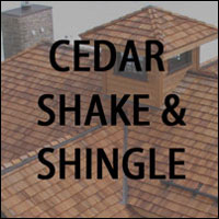 Click To View Cedar Shake & Shingle Roofing